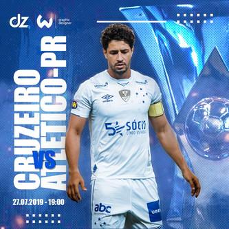 Pré-jogo: Cruzeiro x Athletico-PR