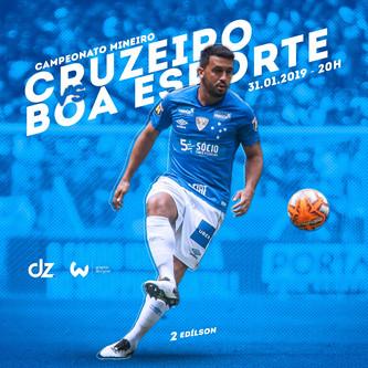 Pré-jogo: Boa Esporte x Cruzeiro