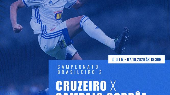 Pré-jogo: Cruzeiro x Sampaio Corrêa