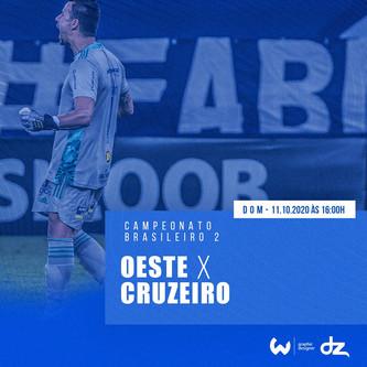 Pré-jogo: Oeste x Cruzeiro