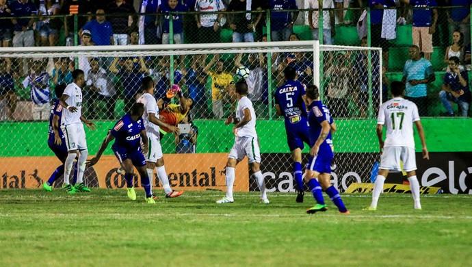 Gol de Manoel.