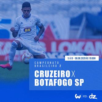 Pré-jogo: Cruzeiro x Botafogo-SP
