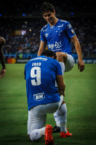 Cruzeiro 4x0 Huracán: Show de Fred e classificação garantida