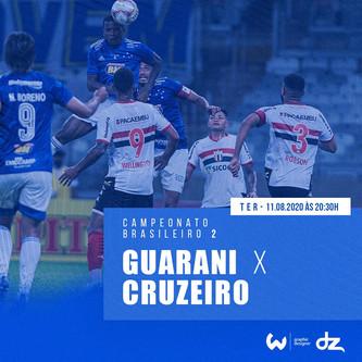 Pré-jogo: Guarani-SP x Cruzeiro