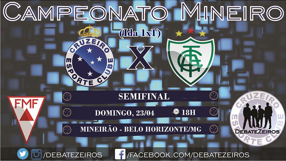 Cruzeiro x América Arte DebateZeiros