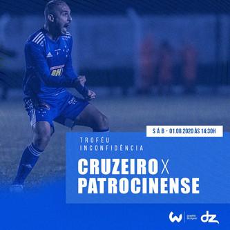 Pré-jogo: Cruzeiro x Patrocinense
