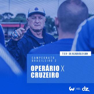Pré-jogo: Operário-PR x Cruzeiro