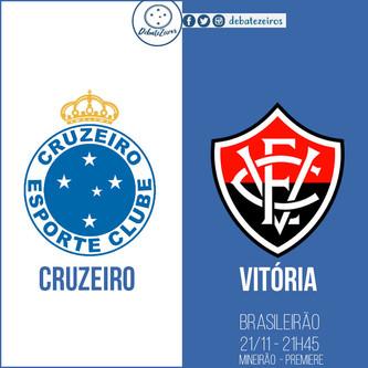 Pré-jogo: Cruzeiro x Vitória
