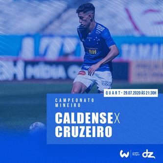 Pré-jogo: Caldense x Cruzeiro