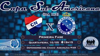 Pré-Jogo: Nacional x Cruzeiro