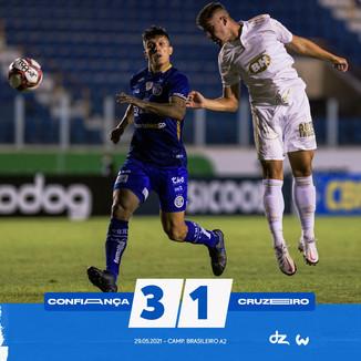 Confiança x Cruzeiro: 1/38: Resultado não esperado