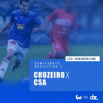 Pré-jogo: CSA x Cruzeiro