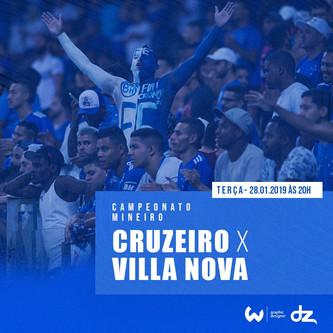 Pré-jogo: Cruzeiro x Villa Nova