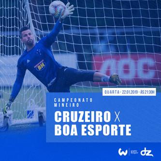 Pré-jogo: Cruzeiro x Boa Esporte
