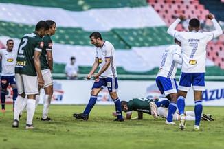Uberlândia 1 x 1 Cruzeiro: Placar Mentiroso