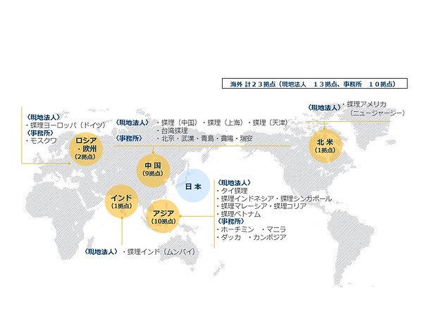 パフォーマンスケミカル部・海外ネットワーク