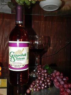 Sunset blush Red Wine