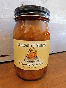 Campers Chow-Chow Hot Sauce