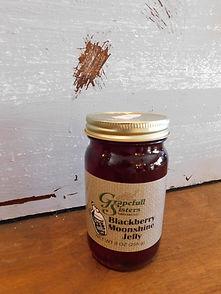 Blackberry Moonshine Jelly