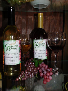 Uncle Pink's alcohol free wine