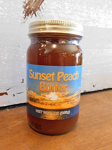 Sunset Peach butter