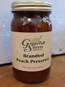 Brandied Peach Preserves