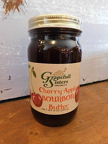 Cherry Apple Bourbon Butter