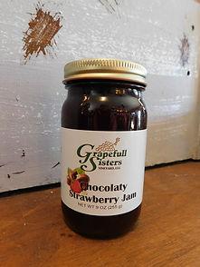 Chocolaty Strawberry Jam