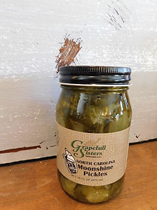 North Carolina Moonshine Pickles