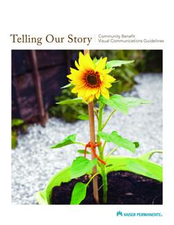 PDF: Telling Our Story Branding
