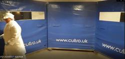 Cultro FastWall™ Blue, temp enclosure