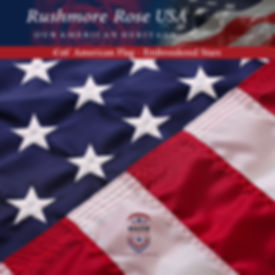 American Flag 4x6 by Rushmore Rose USA