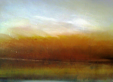 "River Run (sold) Acrylic on canvas H 30"" W 40"" /   H 76.2 cm / W 101.6 cm"