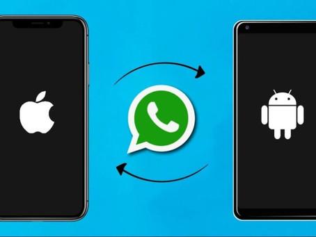 WhatsApp por fin permitirá migrar chats e información de iPhone a Android