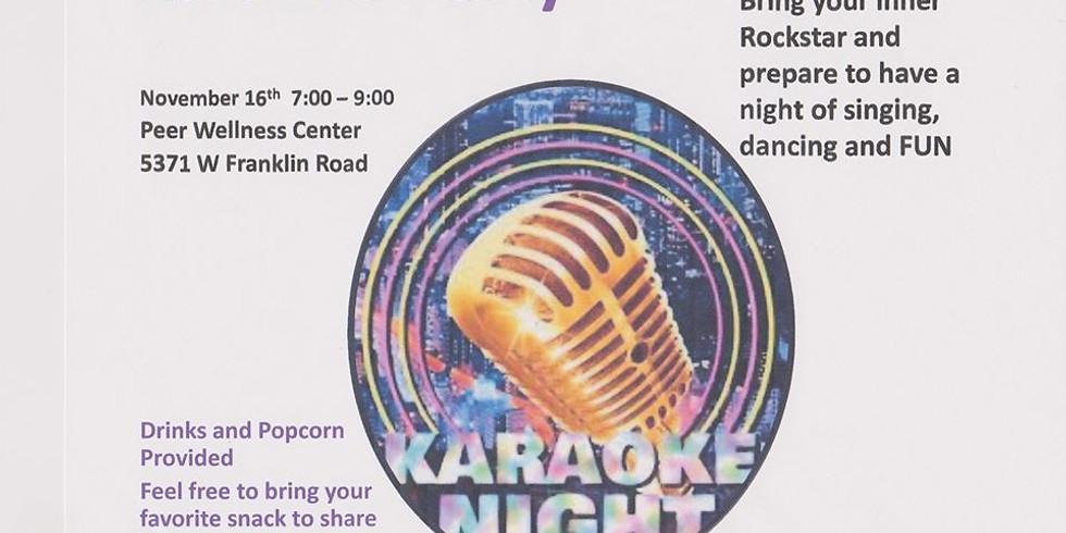 Karaoke Night at PEER!