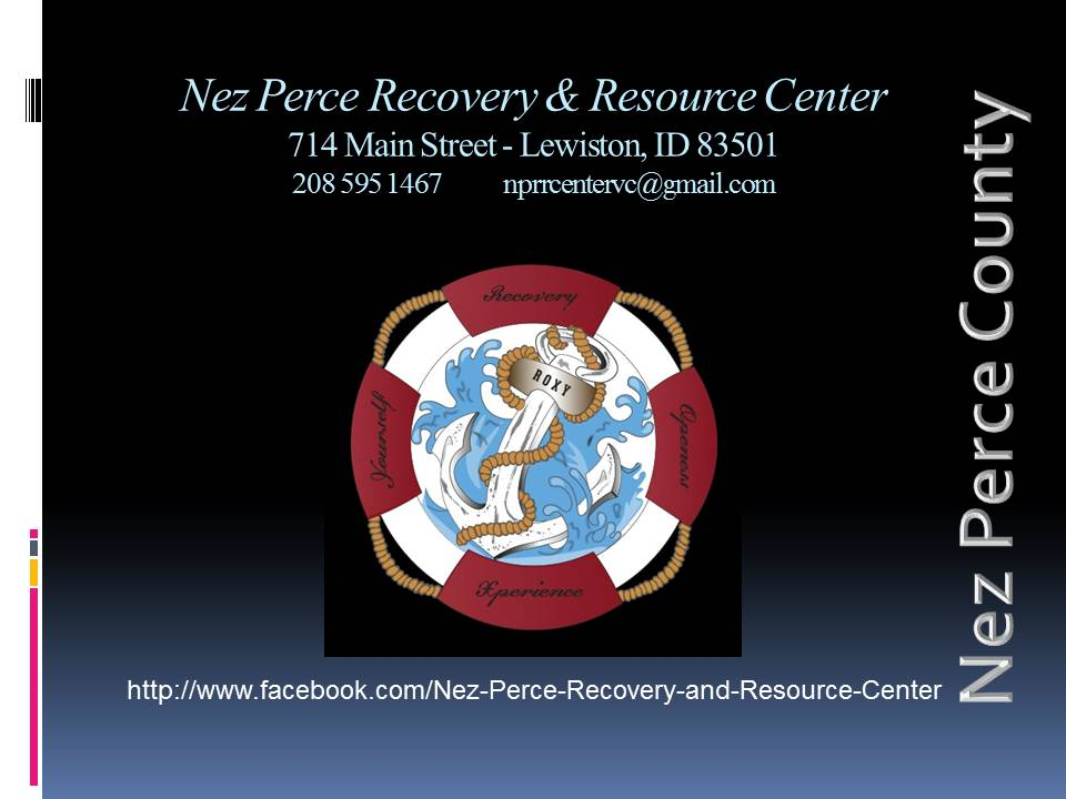 Nez Perce Recovery & Resource Center