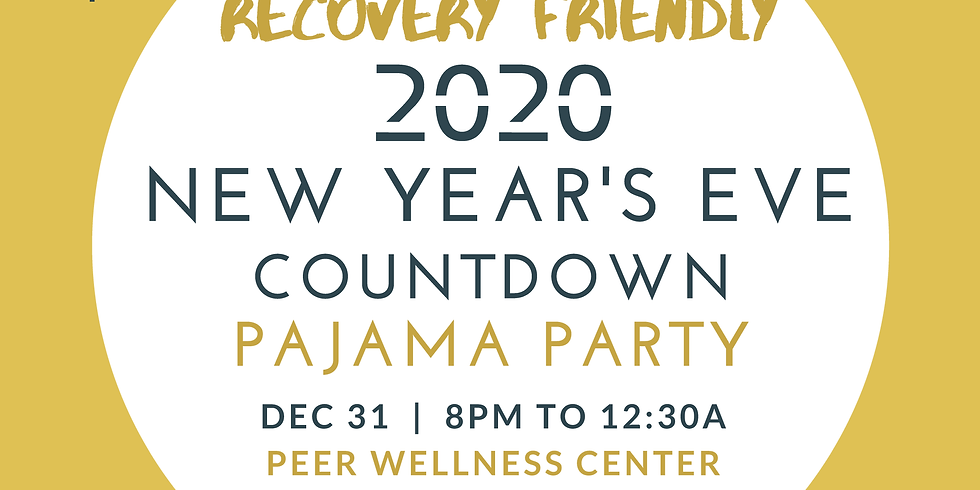 New Year's Eve Countdown Pajama Party!