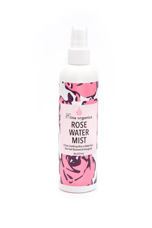 Rose Water Mist (8 oz)