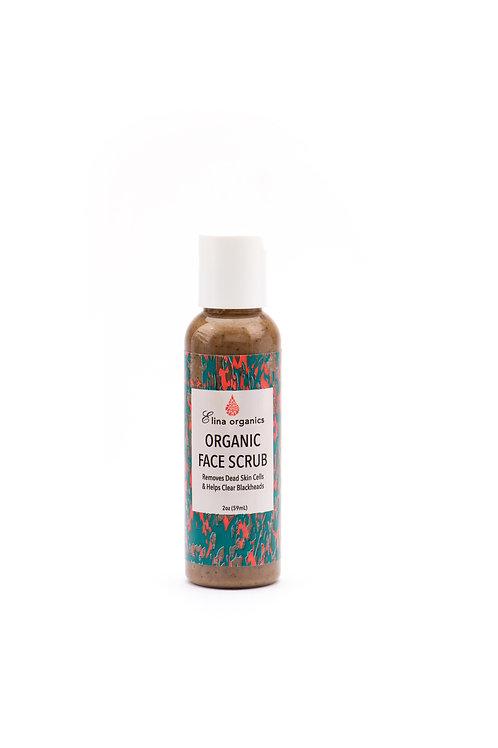 Organic Face Scrub (2 oz)