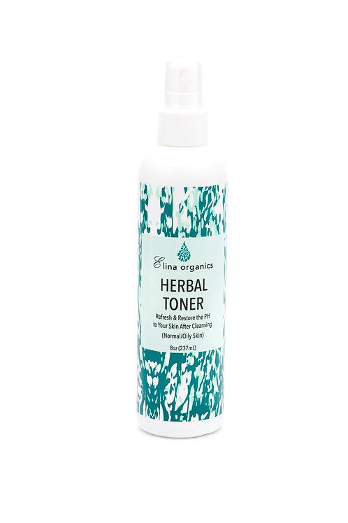 Herbal Toner (8 oz & 4 oz & 2 oz)