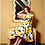 Thumbnail: NEW - Evelyn Dress - Yellow/Black Floral - size M