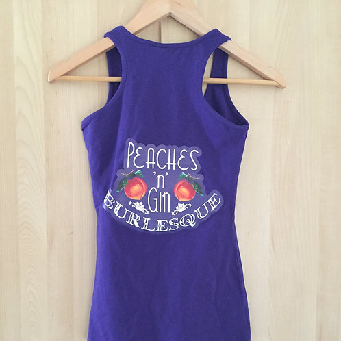 Ladies Singlet - PURPLE - size 12