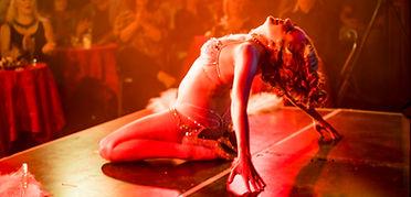 Peaches 'n' Gin Burlesque Sapphir Snow at Adelaide Cabaret Festival