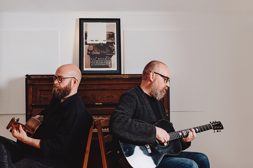 Findlay Napier & Boo Hewerdine by Elly L
