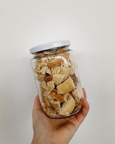 Coconut fragments (vegan)