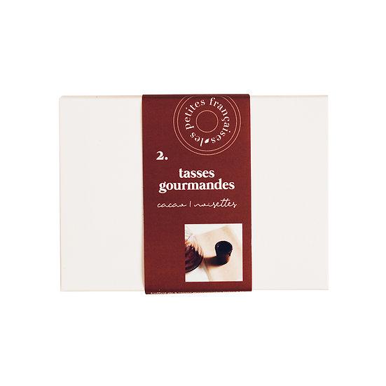 Coffret Cacao Noisettes (x6) - Les Petites Françaises - Tasses gourmandes Made in France