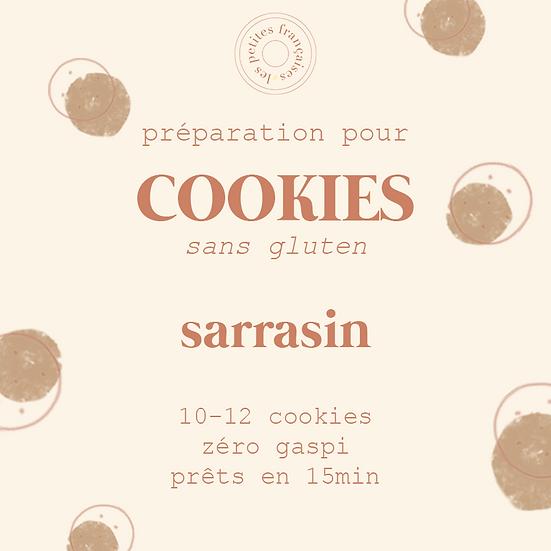 Préparation pour Cookies zéro gaspi | Sarrasin (sans gluten) | 500g