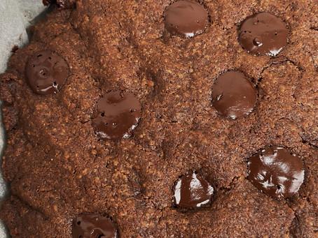 Recette facile de Cookie GÉANT tout choco à la poudre de tasses Cacao | Noisettes