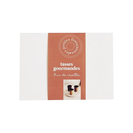 Trio de recettes (x6) - Les Petites Françaises - Tasses gourmandes Made in France