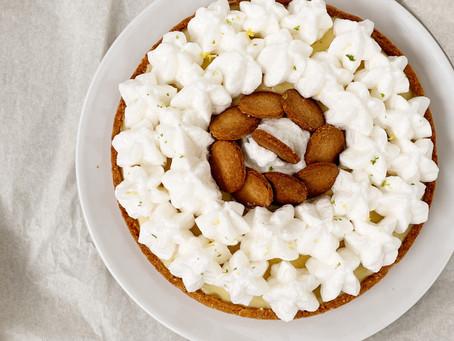 Recette facile de Tarte citron meringuée à la poudre de tasses Fleur de Sel